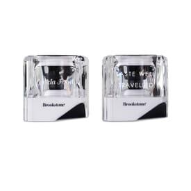 Brookstone® Alpha Bluetooth® Pairing Speakers